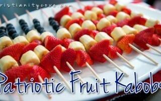4th of july snack patriotic kabobs