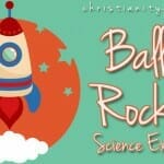 balloon rockets balloon science experiment