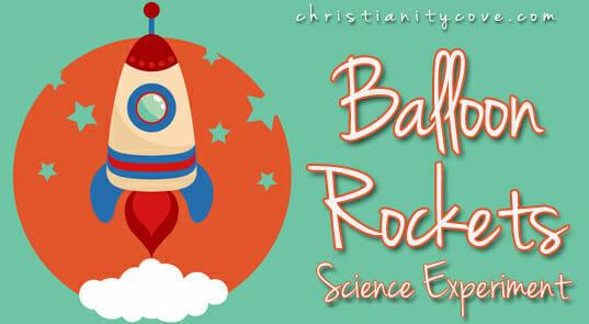 balloon rockets balloon science experimentscience experiment