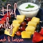 """""""Fruitful Family"""" Kabobs (A Very Special Summer Snack)"""