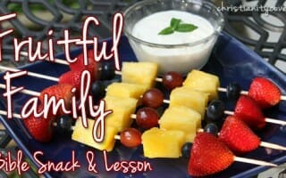 """Fruitful Family"" Kabobs (A Very Special Summer Snack)"