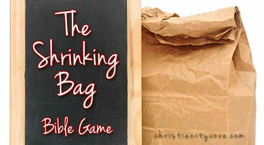 """""""The Shrinking Bag"""" – A Bible Game About Appreciating Freedom!"""
