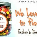 We Love You to Pieces (Father's Day Craft)