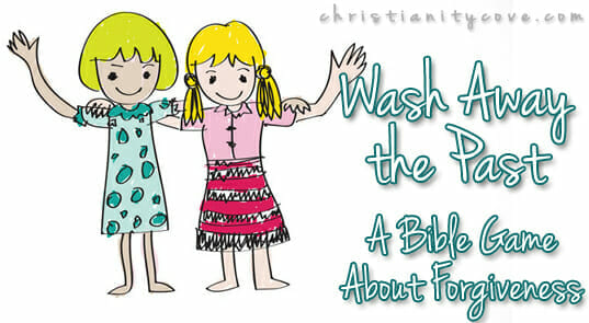 "Wash Away the Past """" A Bible Game About Forgiveness"