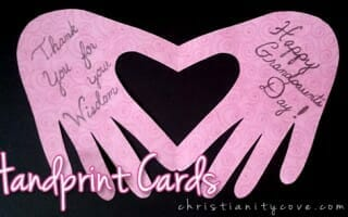 Make Handprint Cards to Show Your Love and Appreciation!