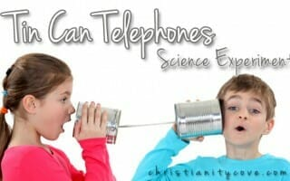 tn can telephones science experiment