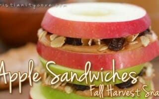 Fall Harvest Snack: Apple Sandwiches
