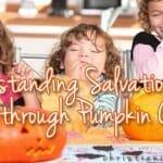 Understanding Salvation through Pumpkin Carving