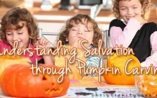 salvation pumpkin carving