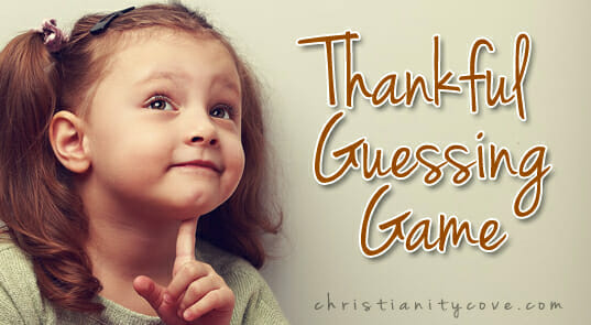 """Thankful Guessing Game"" – A Quiet Thanksgiving Game!"