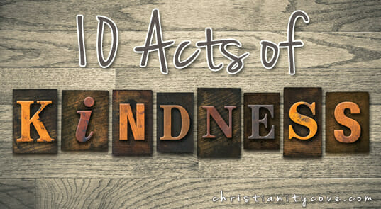 Ten Acts of Kindness during the Month of March!