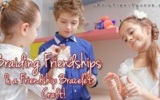 freindship bracelet bible craft