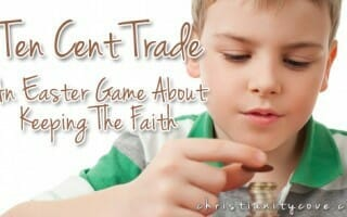 ten cent trade easter game