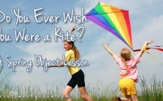 kite spring object lesson