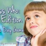 """Guess Who: Mom Edition"" Mother's Day Game"