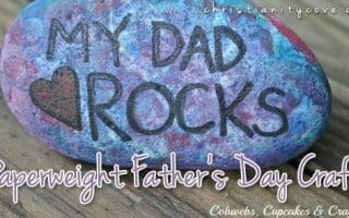paperweight fathers day craft