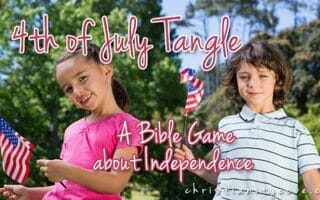 4th of July Tangle – A Bible Game about Independence