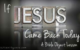 jesus bible object lesson