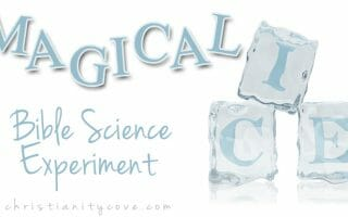 """""""Magical Ice"""" Bible Science Experiment"""