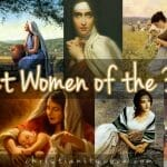 """Great Women of the Bible"" Collage Bible Craft"