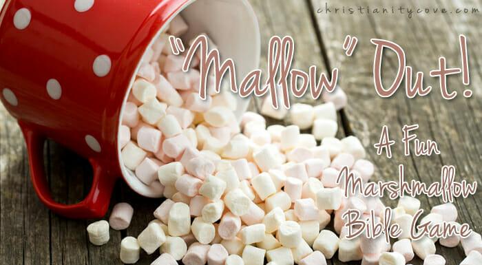"""Mallow"" Out! – A Fun Marshmallow Bible Game"