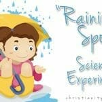 """Raining Sponge"" Harvest Science Experiment"