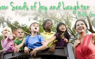 """""""Sow Seeds of Joy and Laughter"""" – A Johnny Appleseed Bible Game"""