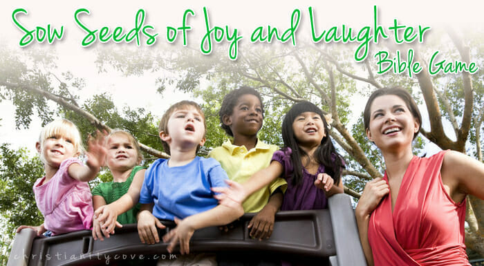 """Sow Seeds of Joy and Laughter"" – A Johnny Appleseed Bible Game"