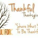 """""""Thankful Tree"""" Thanksgiving Game"""