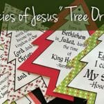 Prophecies of Jesus Tree Ornaments