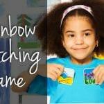 Rainbow Matching Game