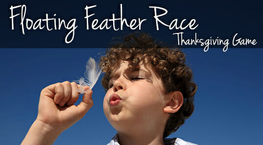 Floating Feather Race